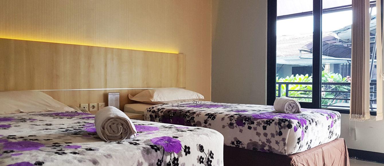 deluxe twin room purwarkarta